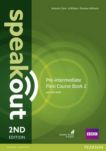 Speakout. Pre-intermediate. Student's book. Ediz. flexi. Per le Scuole superiori. Con espansione online: Speakout Pre-Intermediate 2nd Edition Flexi Coursebook 2 Pack (libro e DVD)