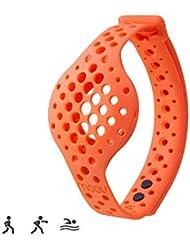 Moov Erwachsene Nowwror Ersatzband für Fußgelenke Now Aktivitätstracker, Orange, M
