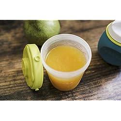 BÉABA Lot de 6 Portions Clip, 60 ml & 120 ml