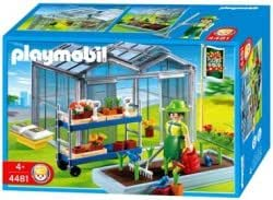 Playmobil - 448 months1 - Les commerçants - Horticultrice / Serre
