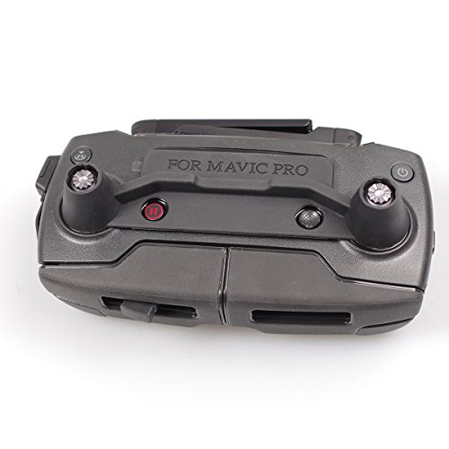 SKYREAT DJI Mavic Pro Fernbedinung Transport Clip Controller & Screen Cover - Schwarz -