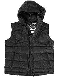 Mil-Tec Pro Vest avec capuchon amovible Noir