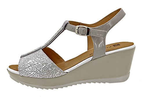 Scarpe donna comfort pelle Piesanto 8980 sandali comfort larghezza speciale