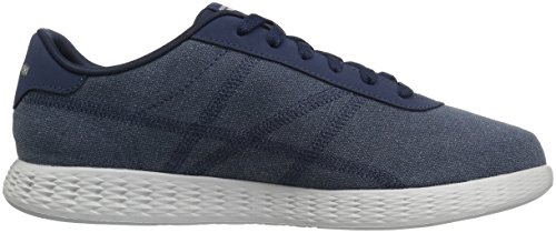 Skechers On-the-Go Glide-Eaze, Sneakers Basses Homme bleu marine/gris