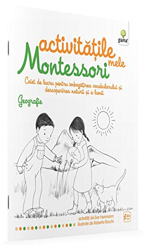 GEOGRAFIE ACTIVITATILE MELE MONTESSORI por Ève Herrmann
