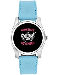 BigOwl Princesses Are Born In November | Birthday Gifts For Girls Fashion Watches For Girls - Awesome Gift For...