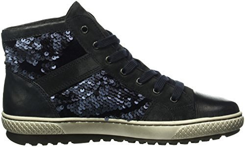 Gabor Shoes Jollys, Scarpe Stringate Donna Blu (Dklblau/OceanMel)