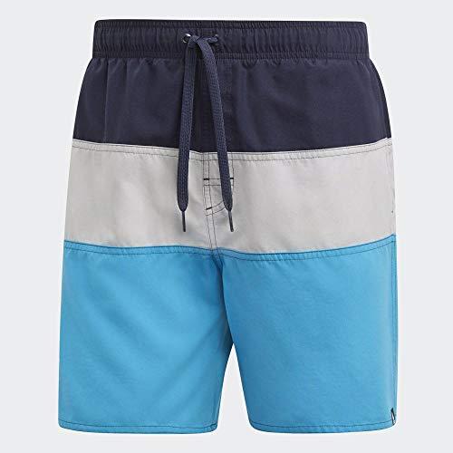 adidas Herren CB SH SL Swimsuit, Legend Ink/Grey Two f17/Shock Cyan, XL