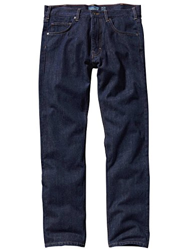 "Herren Hose M´s Straight Fit Jeans regular 32"" Dark Denim"