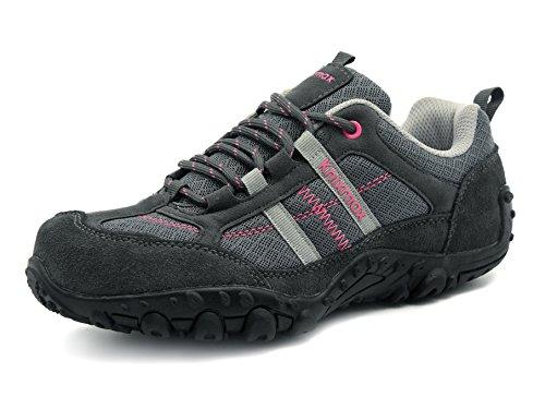 Knixmax Femme Chaussures de Randonnée Chaussures de Sport en Plein air Respirant antidérapant Espadrilles