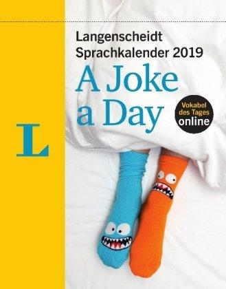 Langenscheidt Sprachkalender A Joke a Day - Kalender 2019 - Tagesabreißkalender mit Witzen, Wortspielen und Cartoons - 12,5 cm x 15,9 cm