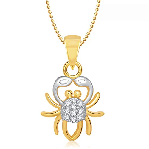 Valentine Gifts Meenaz Zodiac Power pendant Cancer Astrology pendant horoscope with chain PS282