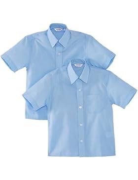 Trutex 9660, Pack de 2 Camisas casual de manga corta para niños