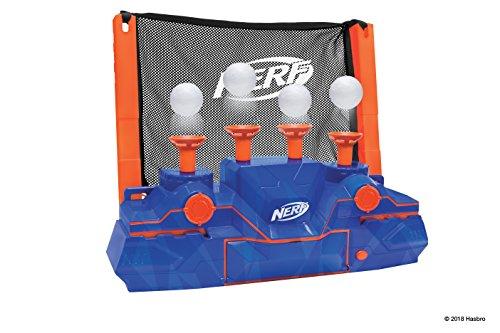 Nerf Elite Hover Zielscheibe 11510 ultimativer Spielspaß mit 4 beweglichen Zielen, trainiere deine Treffsicherheit allein oder im Team