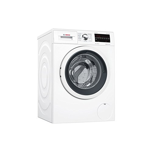 Bosch Serie 6 WAT28469ES Independiente Carga frontal 8kg 1400RPM A+++-30% Negro, Color blanco - Lavadora (Independiente, Carga frontal, Negro, Color blanco, Izquierda, LED, Acero inoxidable)
