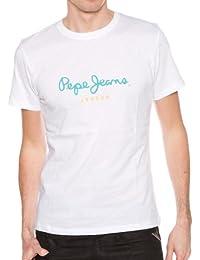 Pepe Jeans - T-shirt - White - Blanc