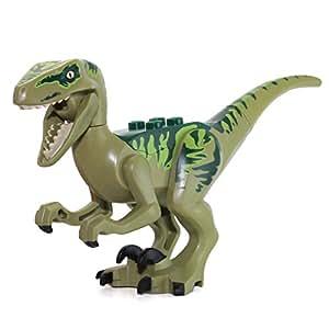 Lego dino raptor dinosaur mini figurine jeux et jouets - Jeux lego dino ...