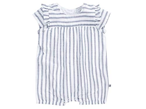 Jacky Spieler für Mädchen, Größe: 62, Alter: 2-3 Monate, Summer Styles, Weiß/Blau, 4119540 - Spieler Mädchen