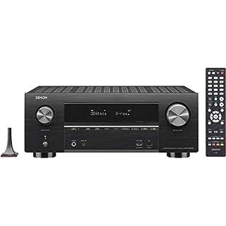 Denon AVR-X3500H 7.2 Channel AV Receiver with Amazon Alexa (Black)