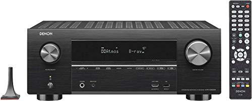 Denon AVRX3500HBKE2 7.2 Surround AV-Receiver Schwarz Apple-kabel Antennen-kabel