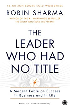 The Leader Who Had No Title by [Sharma, Robin]