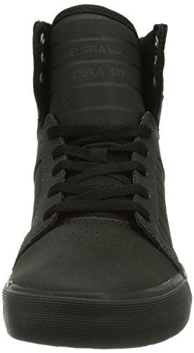 Supra SKYTOP Unisex-Erwachsene Hohe Sneakers Schwarz (BLACK - BLACK   BLK)