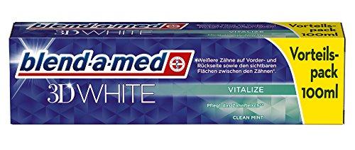 Blend-a-med 3D White Vitalize Aufhellende Zahnpasta 100 ml, 12er Pack (12 x 100 ml)