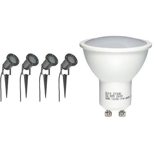 long-life-lamp-company-luci-per-esterni-ad-incastro-gu10-ip65-4-pezzi-nero-opaco-set-di-10-faretti-l