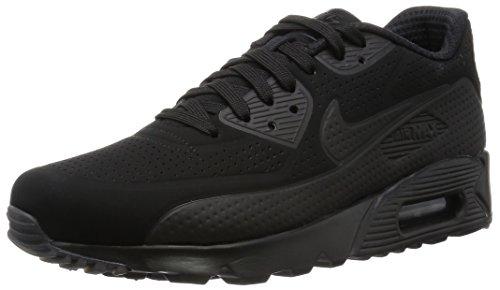 Nike Herren Air Max 90 Ultra Moire Joggingschuhe, Nero / Bianco (Nero / Nero-Bianco), 44 EU