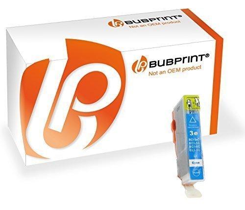 Bubprint Druckerpatrone kompatibel für Canon BCI-6C BCI 6C für i550 i560X i850 i865 i9100 i9950 Pixma IP4000 IP5000 IP6000D MP760 S500 S530D S800 Cyan -