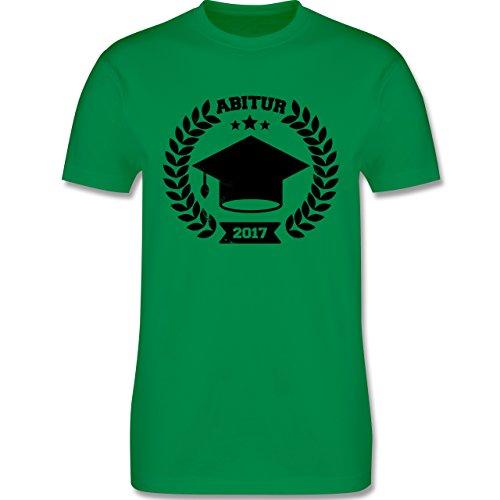Abi & Abschluss - Abitur 2017 - Herren Premium T-Shirt Grün