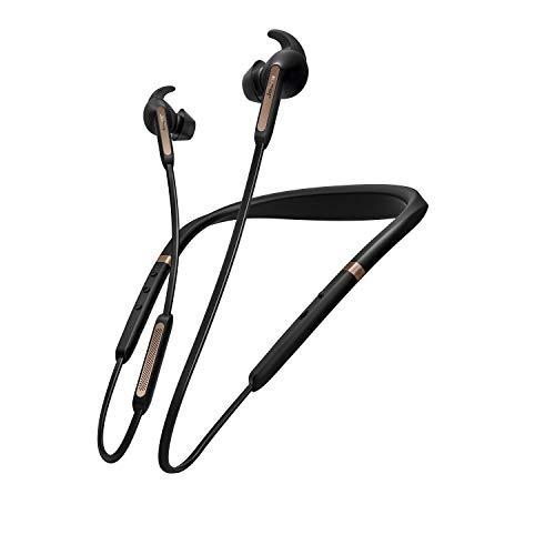Jabra Elite 65e Wireless Stereo ANC in-Ear-Kopfhörer (Bluetooth, professionelles Active Noise Cancellation, Nackenbügel, Sprachsteuerung für Alexa, Siri und Google Assistant) kupfer schwarz thumbnail