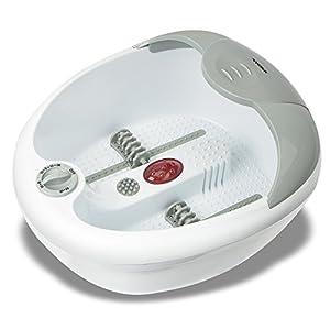 Hangsun Fußbad FM180 Fußmassagegeräte/Fussbäder/Fußsprudelbad/Fußbadewanne mit Fußreflexzonenmassage, Vibrations, Sprudelmassage und Wassertemperierung