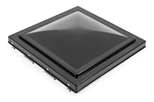 Camco 40175 Replacement Vent Lid (Jensen (pre 1994) Black Unbreakable Polycarbonate) -
