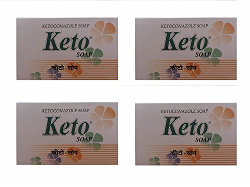 keto soap (pack of 4)