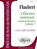 Flaubert, L'Éducation sentimentale