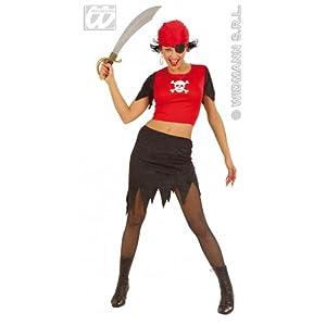 WIDMANN Disfraz de Pirata chica Adulto Medieval