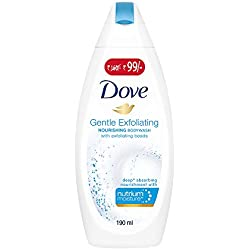 Dove Gentle Exfoliating Body Wash, 190ml