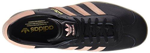 adidas Gazelle, Baskets Basses Femme Noir (Core Black/Vapour Pink/Gum4)