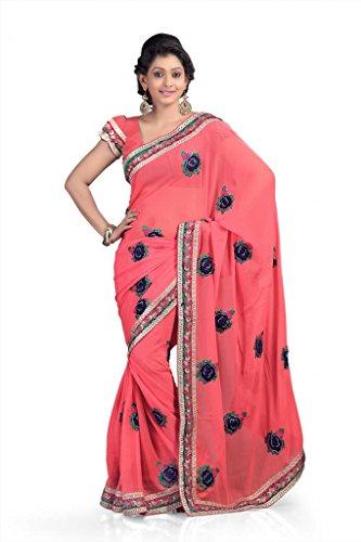 Chirag Sarees Designer Partywear Bridal Marriage Collection 8224-A