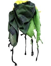 Palästinenser Tuch Schal - Gelb Grün Schwarz Jamaica