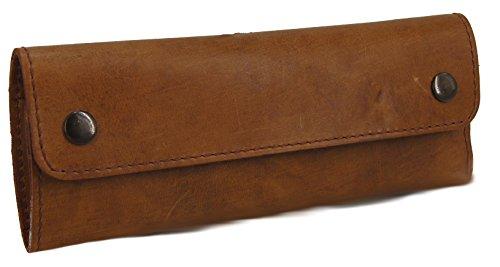 38ce2c0fedb LandLeder Luxury Leather Pencil Case Pencil Case Pencil Case – Assorted  Designs – Presented By The Raba Mtago® -- Maße ca. 20 x 8 x 3 cm ECO-RODEO  Etui