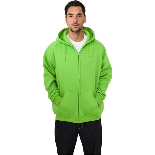 Urban Classics Zip Sweat t limegreen green