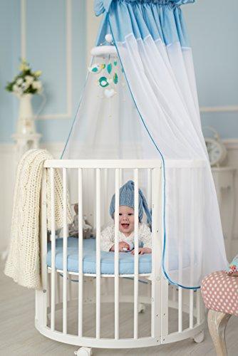 Preisvergleich Produktbild ComfortBaby ® SmartGrow 7in1 Baby- Kinderbett / erweiterbar, multifunktionell, aus MASSIVHOLZ HERGESTELLT IN DER EU ( NEUES MODELL )