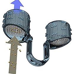 Best Breathe STAUB-Filtersystem für die Nase, NF05017, Filterträger Größe XL mit 10 mm Innendurchmesser (vorwiegend für erwachsene männliche Erwachsene), mit 30 Nasenfilter-Einsätze ZUM FILTERN VON STAUB, SCHMUTZ, SPÄNEN und Pollen zwischen 20 und 60 µm. Filtert Pollen, Hautschuppen, Staub, Schimmelsporen, Keime und andere Allergene! Schüzen Sie sich vor Umweltverschmutzung!