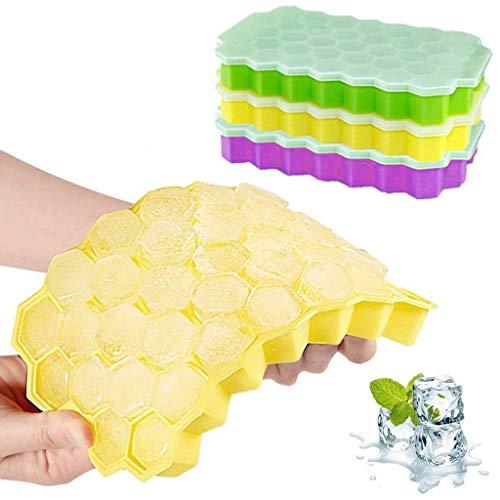 Mitlfuny -> Haus & Garten -> Küche , Dining & BarWabenform Eiswürfelbereiter 3Pcs Eiswürfelschale Eiswürfelform ()