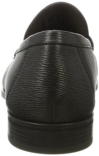 Ecco Herren Dress Moc Mokassin Schwarz (Black)