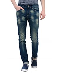 Monte Carlo Mens Straight Fit Jeans (2180871960DN-1-30_Tint Blue)