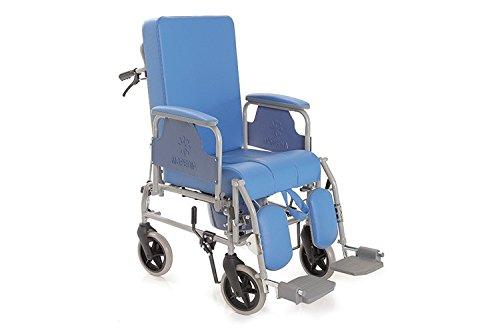 Sedie a rotelle da bagno