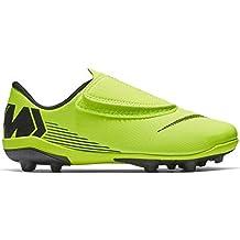 Nike Botas de Fútbol Mercurial Vapor Series Suela MG Amarillo/Negro Niño ...
